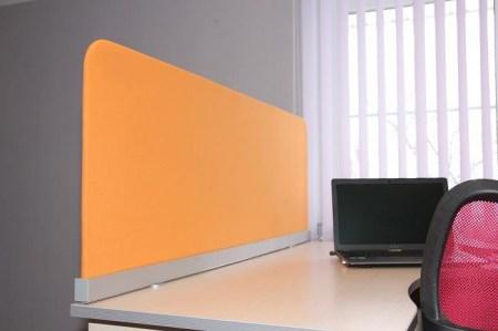 Настольные экраны из ткани