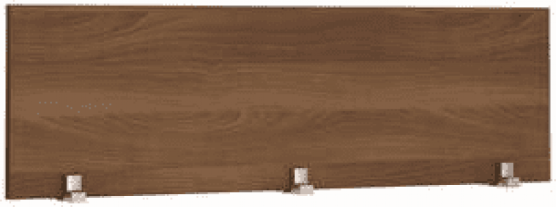 Экран настольный ЛДСП 1200х460