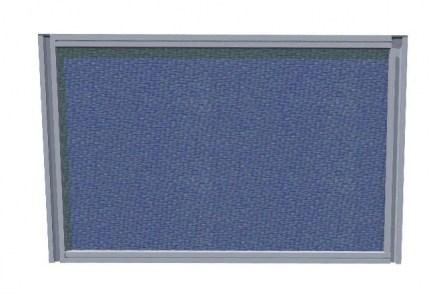Настольный экран 100х60, ткань