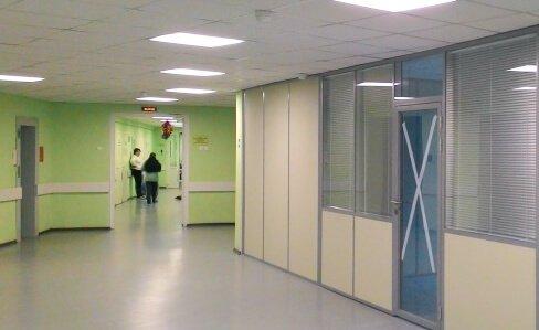 какие перегородки в больницах