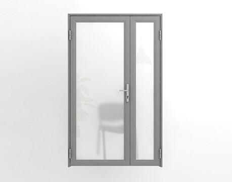 Двойные офисные двери межкомнатные