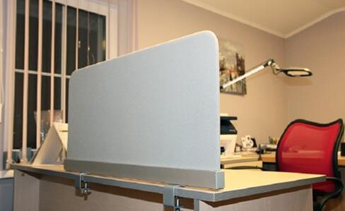 Экран перегородка для офисного стола