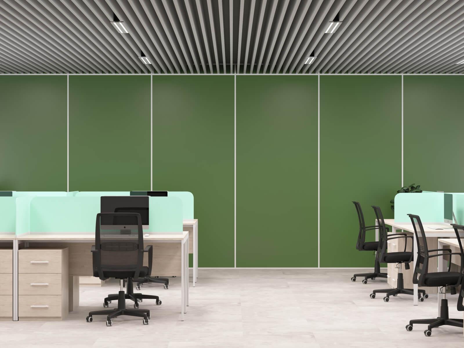 Стеновая панель олива