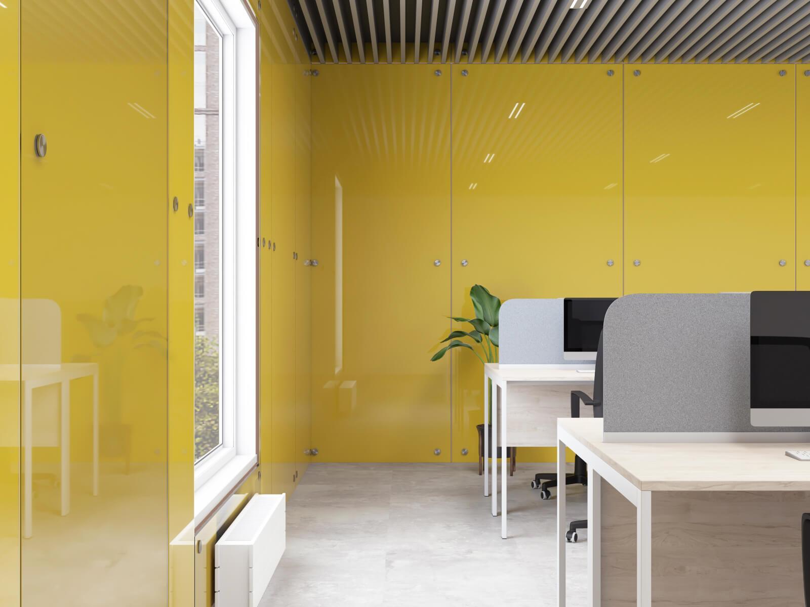 Стеновые панели золото
