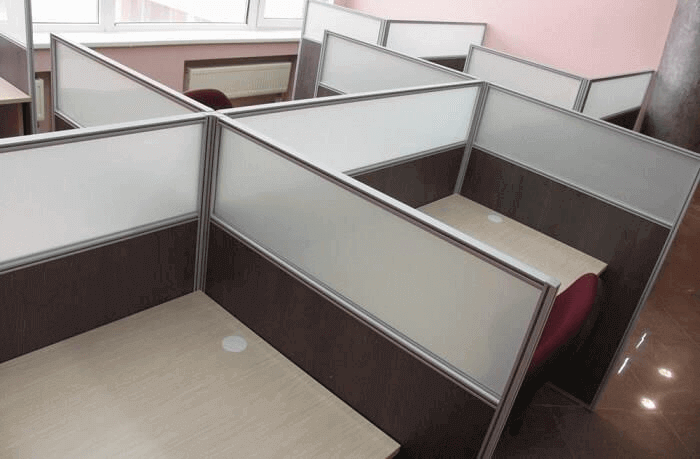 Правильное зонирование офиса перегородками
